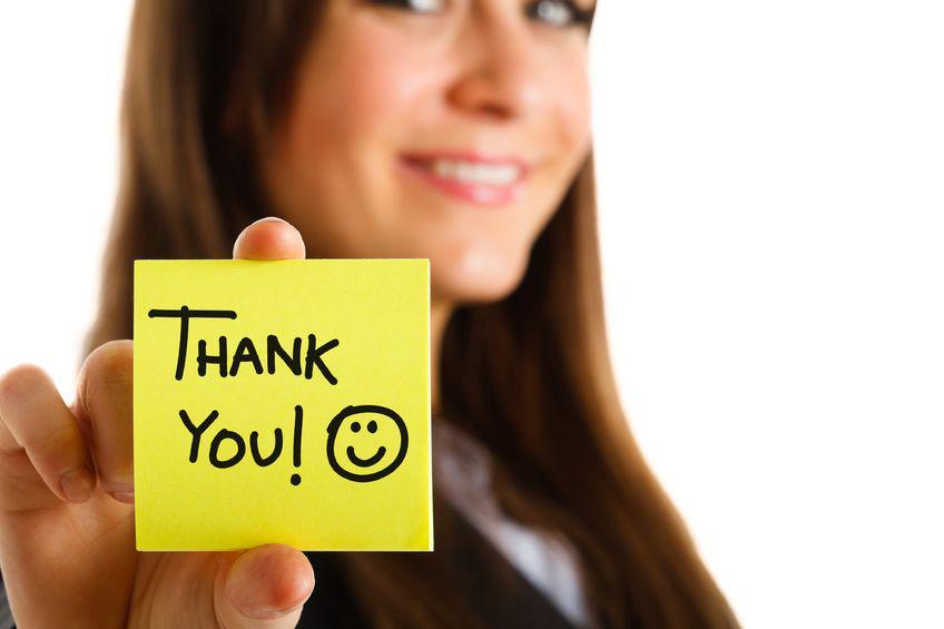 10 e più modi per ringraziare il tuo donatore