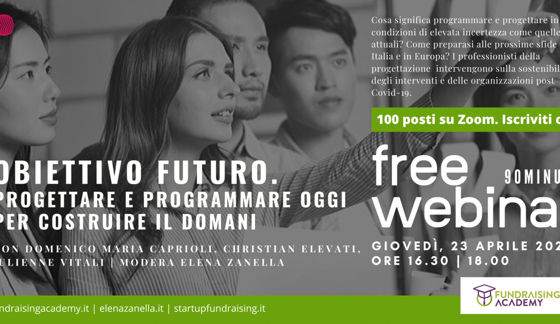 Obiettivo Futuro, il FreeWebinar per chi si occupa di progettazione