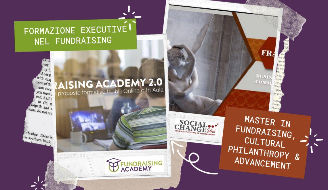 Fundraising Academy e Social Change School stringono un'alleanza per l'alta formazione