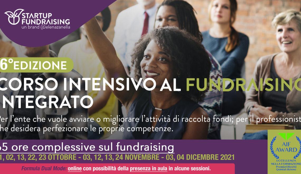 Startup Fundraising. La sesta edizione torna in ottobre: 65 ore, undici incontri
